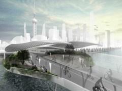 BMW propone una 'hyperloop para ciclistas y motos eléctricas' para reducir la contaminación y el tráfico