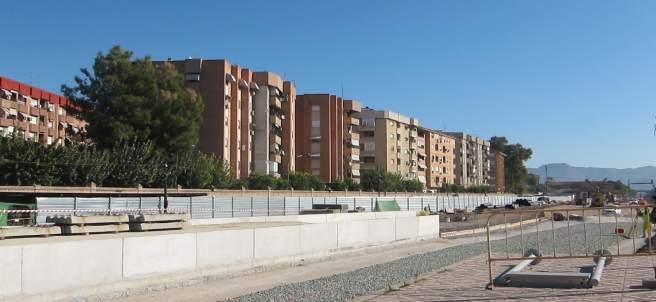 Inicio de las obras de soterramiento del tren en Murcia