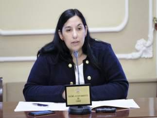 Ana Fernández, concejal en el Ayuntamiento de Cádiz