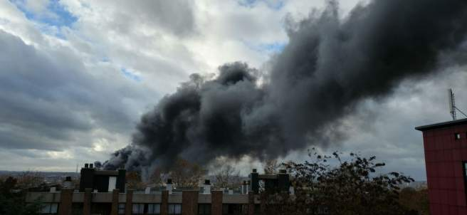 Incendio Bruselas