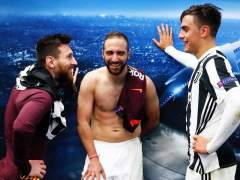 Messi, Higuaín y Dybala