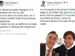 El exlíder belga Di Rupo corrige al eurodiputado independentista Tremosa