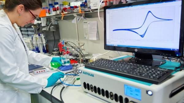Laboratorio de CIC Nanogune.