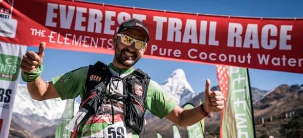 Jordi Gamito cierra una temporada de lujo arrasando en la Everest Trail Race