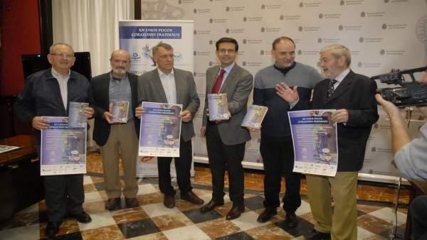 Presentación del libro solidario del Banco de Alimentos