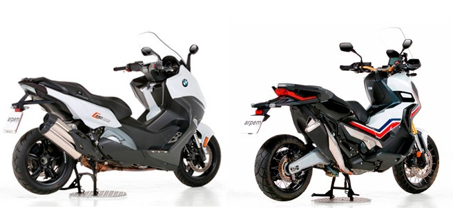Comparativa entre Honda X-ADV y BMW C 650 Sport