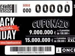 Black Friday de la ONCE: el cuponazo del viernes 24 de noviembre de 2017