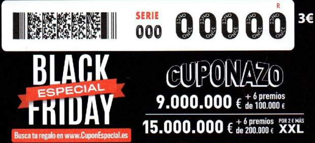 Cuponazo del Black Friday