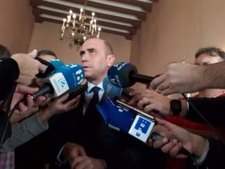Gabriel Echávarri, este divendres en atenció als mitjans