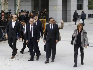 Exconsellers del Govern