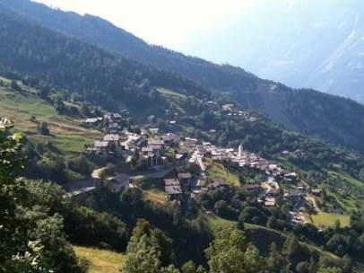 Albinen, pueblo suizo