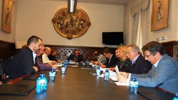 Soria: reunión de Rey con el Diálogo Social