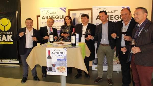 Presentan una Ruta del Choco que se hará en Huelva.