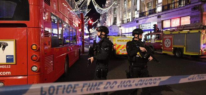 "Cerrada la estación de Oxford Circus (Londres) por un ""incidente"""