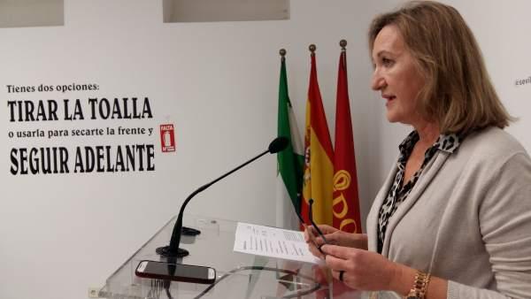 La concejal del PP en el Ayuntamiento de Sevilla, María del Mar Sánchez Estrella