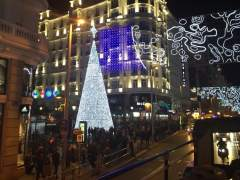 La Navidad se enciende en la almendra central de Madrid