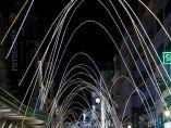 Encendido navideño en el centro de Madrid