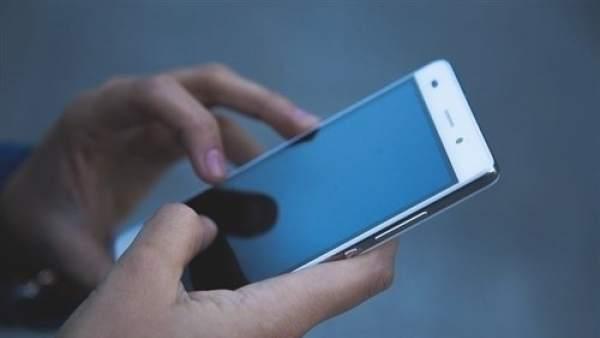 Un usuario de teléfono móvil.