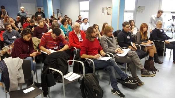 Burgos.- Fernández, en el encuentro Provincial de Podemos Burgos