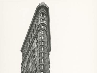 Berenice Abbott. Flatiron building. Madison Square, 1938