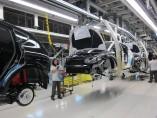 Fábrica de Seat en Martorell, línea de producción