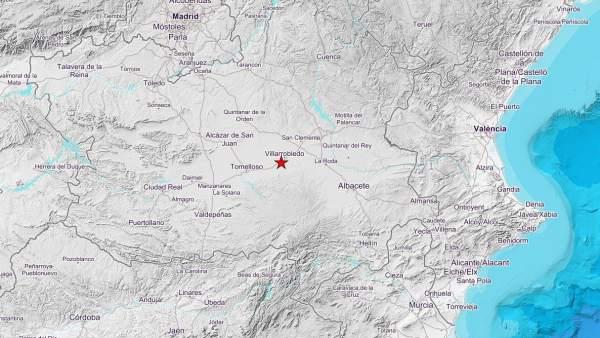 Terremoto en Villarrobledo