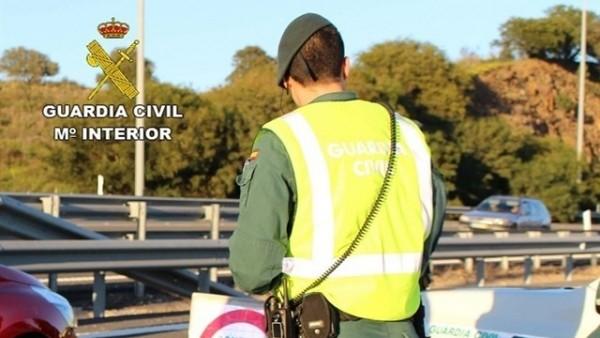 Guardia Civil en un control