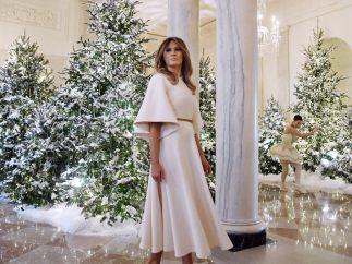 La primera dama de EE UU, Melania Trump
