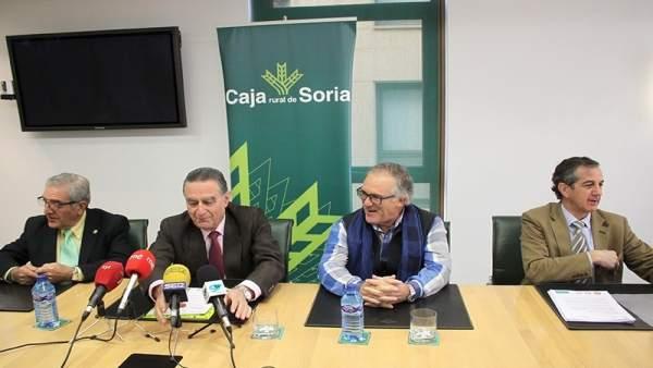 Inauguración del Aula Olímpica de Soria.