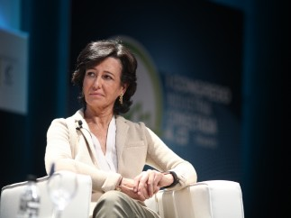 Ana Botín en el I Congreso de Industria