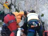 Rescate de montañeros