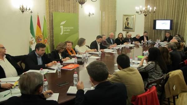 Comisión institucional de la candidatura de Paisajes del Olivar en Andalucía