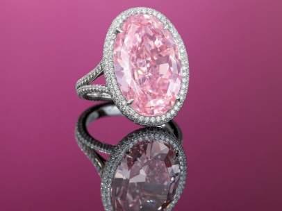 Anillo de diamantes 'Pink Promise'
