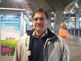 Juan Hernández, taxista de Barcelona