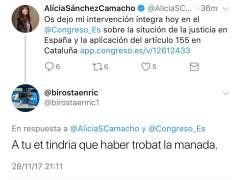 Insultos a Alicia Sánchez-Camacho