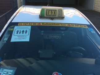 Taxi en servicios mínimos