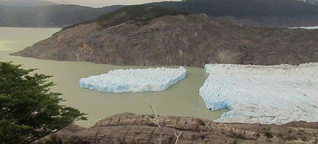 Glaciar fracturado