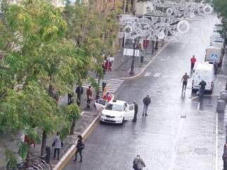 Taxista en Sevilla