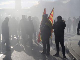 Taxistas se manifiestan en Madrid
