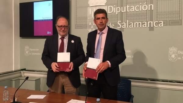Mariano Esteban y Julián Barrera,  de izda a dcha.