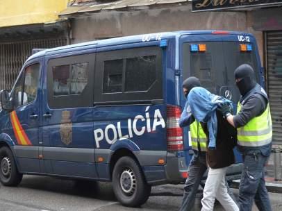 Detención de un miembro de una célula terrorista yihadista
