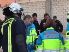 Muere un trabajador de 46 años en Villaverde al caerle encima una puerta de 600 kilos