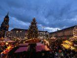 Inauguración del mercado navideño de Dresde
