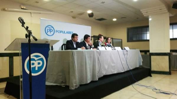 Ávila.- Junta directiva del PP de Ávila