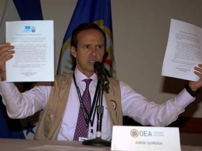 El expresidente de Bolivia Jorge Quiroga