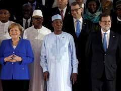 Rajoy y Merkel