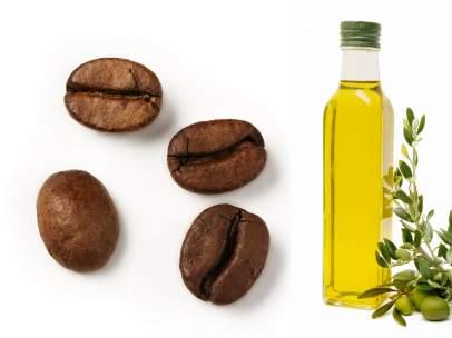 Café y aceite de oliva