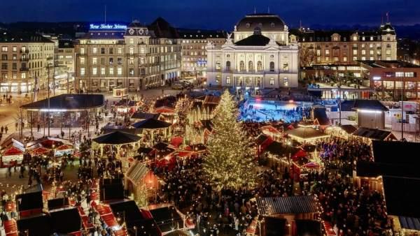 Mercado navideño de Zurich