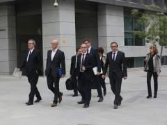 Llarena decidirá el viernes si dicta prisión para Turull y otros seis encausados