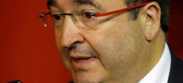 Miquel Iceta, primer secretario y candidato del PSC.